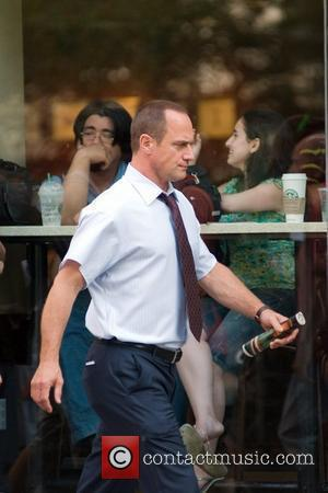 Christopher Meloni on the set of 'Law and Order: Special Victims Unit' New York City, USA - 16.08.10