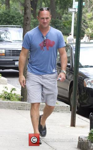 Christopher Meloni on the set of 'Law and Order: Special Victims Unit' New York City, USA - 10.08.10