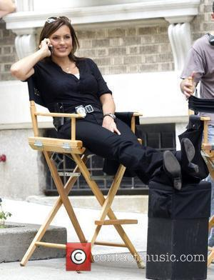 Mariska Hargitay on the set of 'Law and Order: Special Victims Unit' New York City, USA - 10.08.10