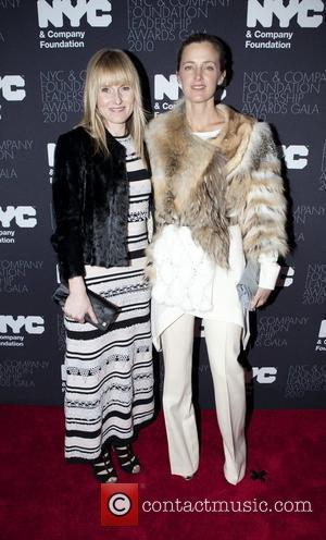 Amy Astley and Amanda Brooks The Leadership Awards gala 2010 held at the Plaza hotel New York City, USA -...
