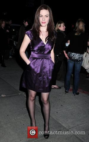 Maggie Siff Screening of the new movie 'Leaves of Grass' held at the Sunshine Cinema - outside arrivals New York...