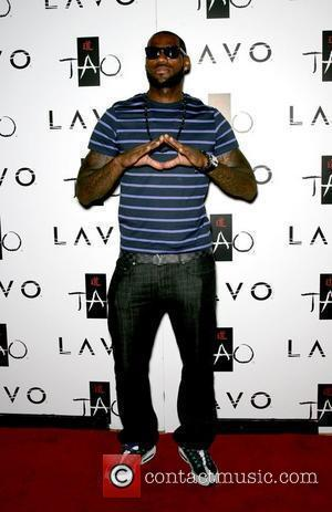 LeBron James hosts an evening at LAVO nightclub at The Palazzo Resort Casino  Las Vegas, Nevada - 23.07.10