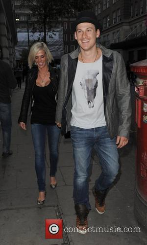 Lee Ryan and his girlfriend Samantha Miller leaving their Hotel. London, England - 14.04.10