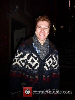 Stephen Webb after his performance in 'Legally Blonde' at The Savoy Theatre in London London, England - 10.01.11
