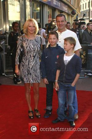 Gillian Taylforth and family The UK premiere of 'Legend of the Guardians: The Owls of Ga'hoole' held at the Odeon...