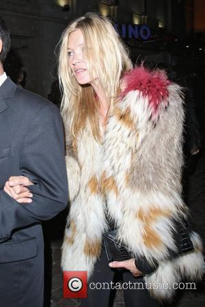 Kate Moss,  leaving No 1 Leicester Square after attending a W hotel. London, England - 23.09.10