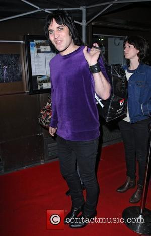 Noel Fielding,  leaving No 1 Leicester Square after attending a W hotel. London, England - 23.09.10