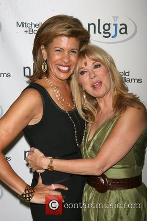 Hoda Kotb, Kathie Lee Gifford, of the Today Show The National Lesbian & Gay Journalists Association's 15th Annual NY Benefit...