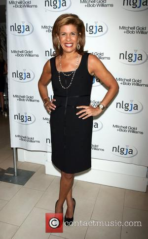 Hoda Kotb, of the Today Show The National Lesbian & Gay Journalists Association's 15th Annual NY Benefit at Mitchell Gold...