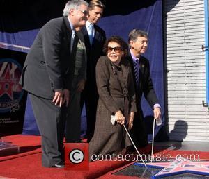 Neal Baer, Jack Larson and Leslie Caron