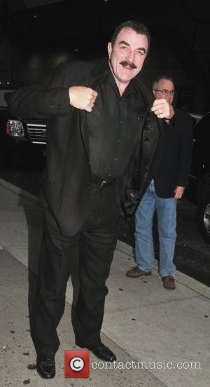 Tom Selleck and Ed Sullivan