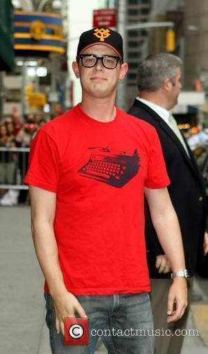 Colin Hanks and David Letterman