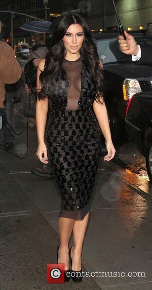 Kim Kardashian and Ed Sullivan