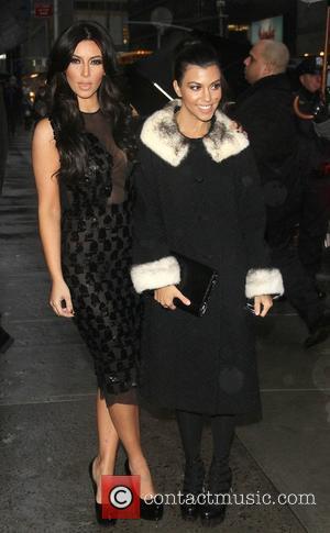 Kim Kardashian, Ed Sullivan and Kourtney Kardashian