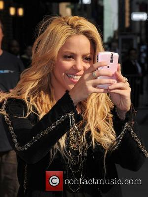 Shakira, David Letterman and Ed Sullivan