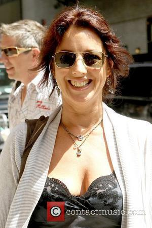 Sarah McLachlan Celebrities at the Ed Sullivan Theater for the 'Late Show With David Letterman' New York City, USA -...