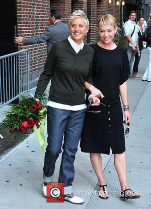 Ellen Degeneres, Ed Sullivan and Portia De Rossi