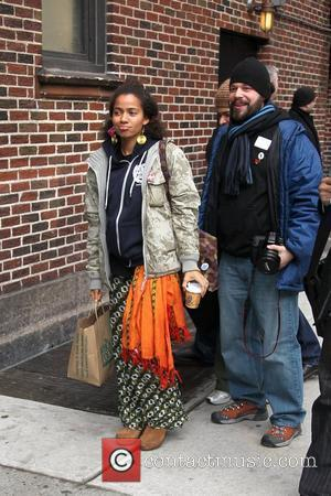 Nneka and David Letterman