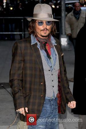 Johnny Depp and Ed Sullivan