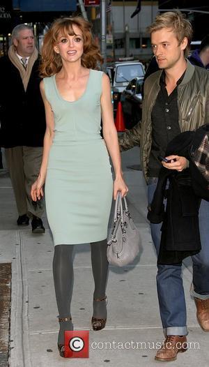 Jayma Mays and Ed Sullivan