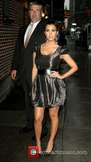 Kourtney Kardashian and David Letterman