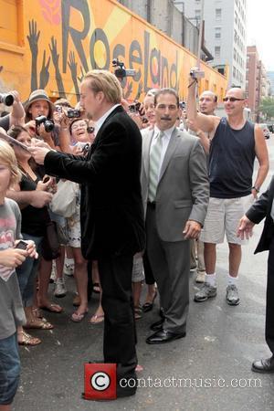 Nicolas Cage and David Letterman