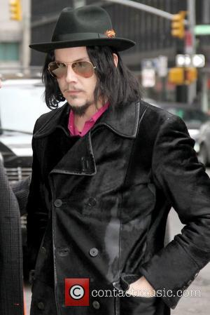 Jack White Celebrities at The Ed Sullivan Theater for 'The Late Show with David Letterman'  New York City, USA...