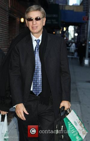 Marv Albert outside The Ed Sullivan Theater for 'The Late Show with David Letterman'  New York City, USA -...