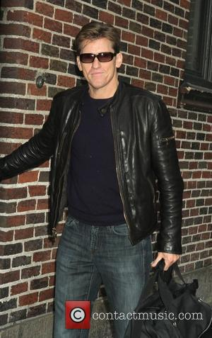 Denis Leary outside The Ed Sullivan Theater for 'The Late Show with David Letterman'  New York City, USA -...