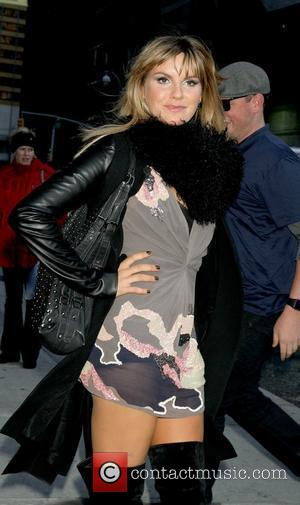 Grace Potter outside The Ed Sullivan Theater for 'The Late Show with David Letterman'  New York City, USA -...