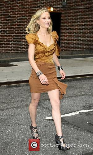 Anne Heche Celebrities outside The Ed Sullivan Theater for 'The Late Show with David Letterman' New York City, USA -...
