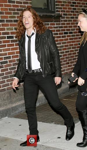 Shaun White Celebrities outside The Ed Sullivan Theater for 'The Late Show with David Letterman' New York City, USA -...