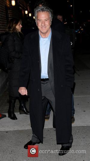 Dustin Hoffman and Ed Sullivan