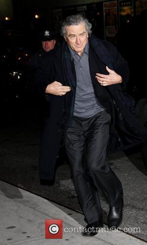 Robert De Niro and Ed Sullivan