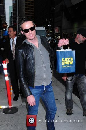 Scott Weiland and David Letterman