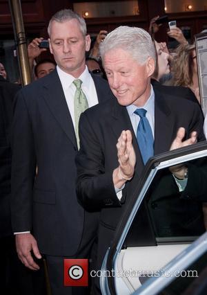 Bill Clinton and Ed Sullivan