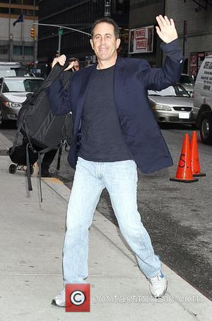 Jerry Seinfeld  outside The Ed Sullivan Theater for 'The Late Show with David Letterman' New York City, USA -...