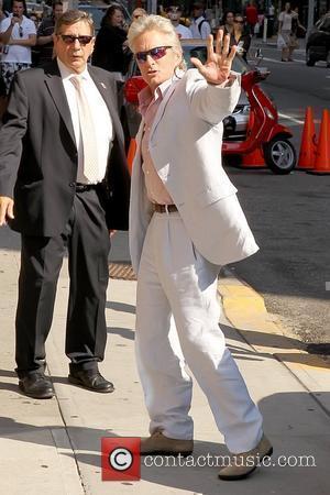 Michael Douglas and Ed Sullivan