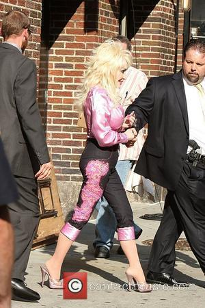Dolly Parton and David Letterman