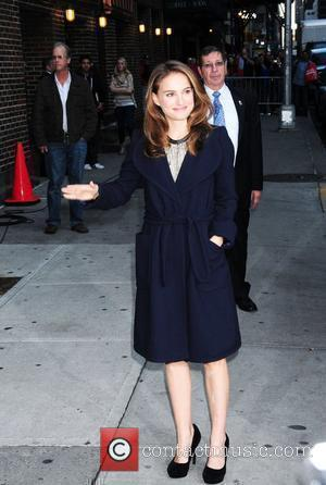 Natalie Portman and Ed Sullivan