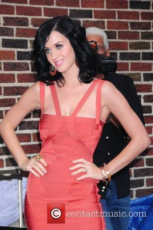The Late Show With David Letterman, David Letterman, Katy Perry