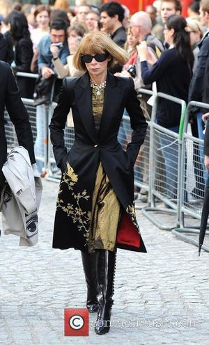 Anna Wintour, Alexander Mcqueen and Cathedral