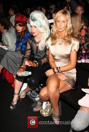 Jodie Harsh and Lady Victoria Hervey London Fashion Week Spring/Summer 2011 - Ashish - Front Row London, England - 21.09.10