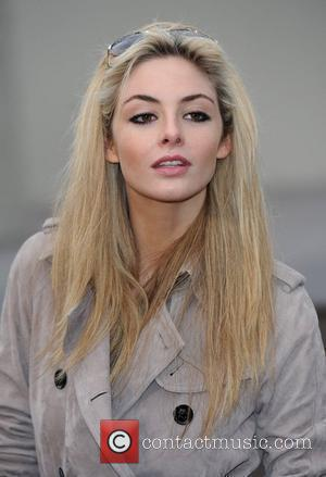 Tamsin Egerton London Fashion Week Autumn/Winter 2010 - Burberry Prorsum - held at the Chelsea College of Art and Design...