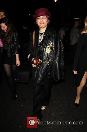 Adam Ant London Fashion Week Spring/Summer 2011 - Dolce & Gabbana and Naomi Campbell party on Bond Street. London, England...