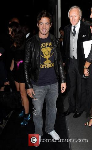 Danny Cipriani Dolce & Gabbana party held on Bond Street - Arrivals. London, England - 21.09.10