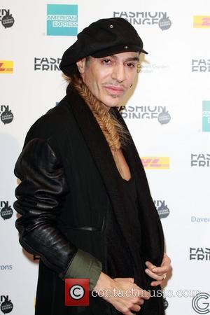 John Galliano Designing Costumes For Stephen Fry's West End Play