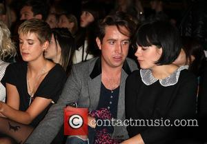 Agyness Deyn, Lily Allen and Nick Grimshaw