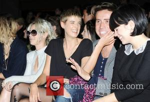 Pixie Geldof, Jaime Winstone, Lily Allen and Nick Grimshaw