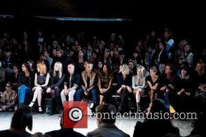 Nicola Roberts, Agyness Deyn, Jaime Winstone, Lily Allen, Nick Grimshaw and Pixie Geldof